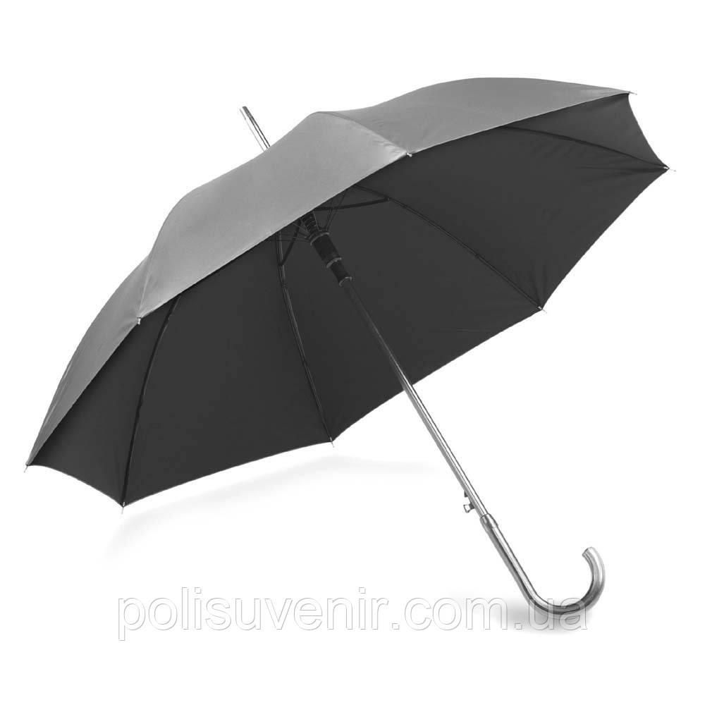 Зонт-трость полуавтомат золото, серебро