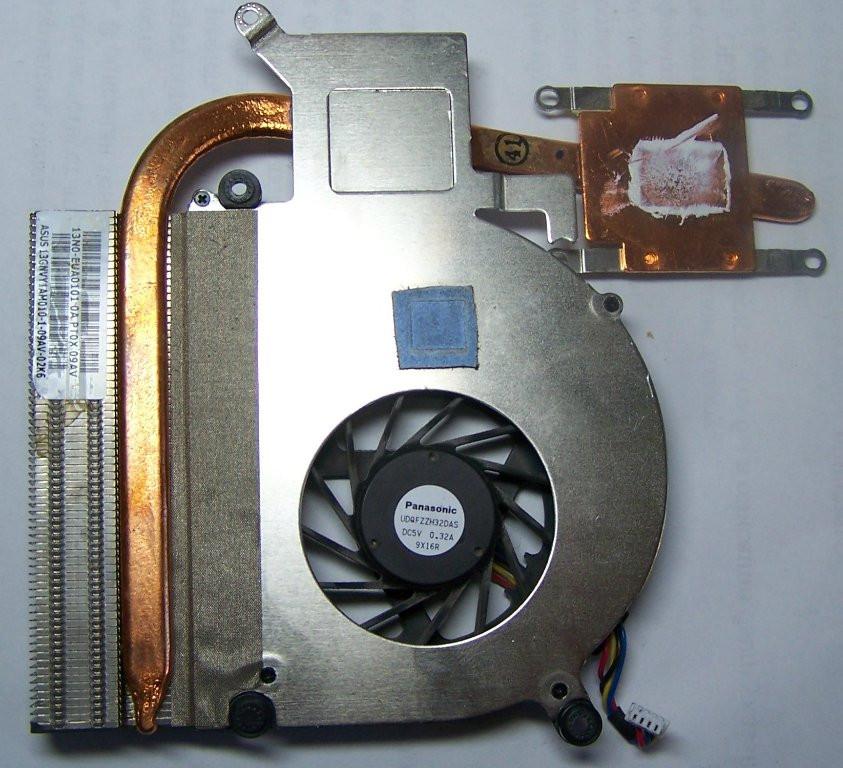 Сист. охлаждения 13GNVY1AM010-1 ASUS X70A KPI10279