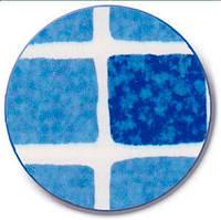 Гидроизолирующая ПВХ пленка - лайнер - мозаика синяя