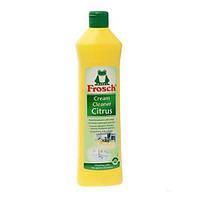 Frosch чистящее молочко на основе мраморной пыли с запахом лимона (500 мл.)