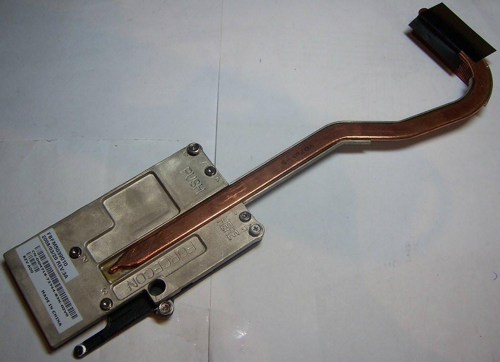 Радиатор 0GM716 video NVIDIA GF 8600M GT Dell 1500
