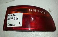 Фонарь задний внешний правый Honda Accord СС 1993-1996 года. Код 33500-SN7-G01. БУ