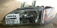 Фара левая БУ Honda Civic 1990-1995 года. Код 33151SR3A01