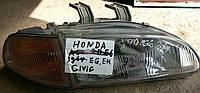 Фара правая БУ Honda Civic 1990-1995 года. Код 33101SR3A01