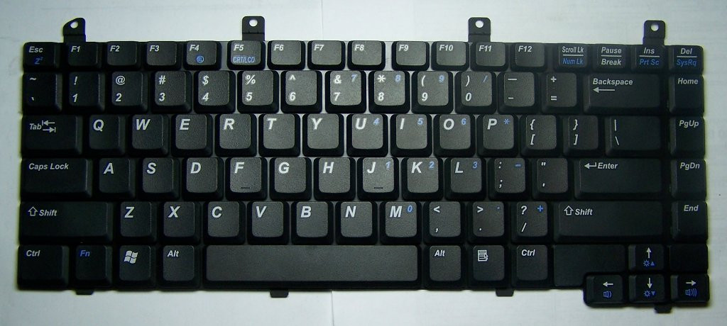 Клавиатура MP-03903US-6982 Lenovo F80 KPI10157