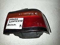 Фонарь задний внешний правый БУ Honda Concerto 1989-1996 года. Код 33500-SK3-E02