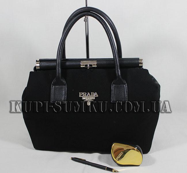 2089494ca336 Стильная замшевая сумка Prada - Интернет-магазин