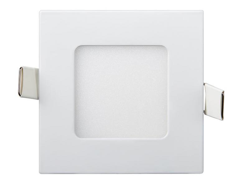 Светодиодный светильник Lezard  6W 6400К (120*120) квадратный