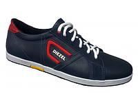 Мужские кожаные кроссовки Diesel