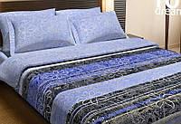Постельное белье 200х220/50*70  TOP DREAMS ПОПЛИН Нежность Кубы
