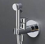 Встроенный смеситель с гигиеническим душем на страже чистоты