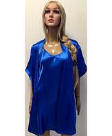 Комплект Халат с рубашкой размер 44-50
