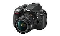 Фотокамера Nikon D3300 Black + AF-P 18-55 VR