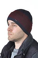 Зимняя мужская шапка с отворотом ShaDo №57
