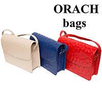 Новинка! Кожаные сумочки и клатчи из натуральной кожи страуса