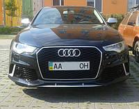 Передний бампер RS6 на Audi A6 2012-... Фото клиента после установки!