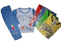 Пижама трикотажная для мальчиков, размеры 86/92, 98/104,110/116,122/128, 134/140, арт. 004