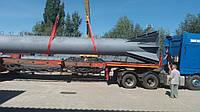 Изготовление дымовой трубы высотой 46 метров, диаметров 1220 миллиметров на нашей производственной базе в горо