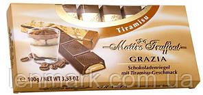 Шоколад  с кремовой начинкой Maitre Truffout Tiramisu со вкусом тирамису, 100 г