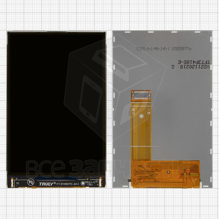 Дисплей для мобильного телефона Fly IQ270 Firebird, оригинал, 40 pin, #160000089/TFT3P4185FPC-A2-E