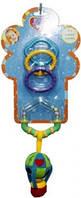 Кольцевая погремушка-подвеска с грызуном biba toys ВОЗДУШНЫЙ ШАР
