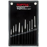 Набор ударно-режущего инструмента, 10 предметов Toptul