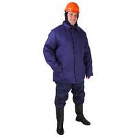 Куртка ватная для рабочих диагональ 100% хлопок