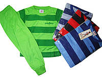 Пижама трикотажная для мальчиков, размеры 86/92(2),98/104,  арт. 003