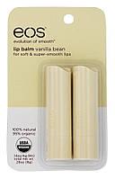 Бальзамы для губ E.O.S Ваниль Smooth Stick Lip Balm, 2 шт