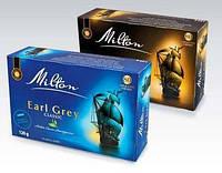 Чай черный с бергамотом Milton Earl Grey Classic 80 пакетиков