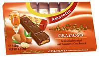 Шоколад  с кремовой начинкой Maitre Truffout Amaretto со вкусом Амаретто, 100 г