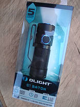 Фонарь Olight LED S1 XM-L2 BATON BLK, фото 2