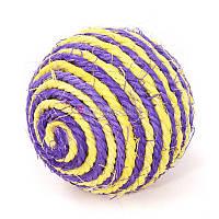 Кулька,іграшка для кота,сизалева
