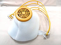 Респиратор У2К высший сорт (ЯК-Ж) белый цвет, наголовник пластик