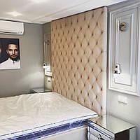 Кровать с мягкими панелями, фото 1