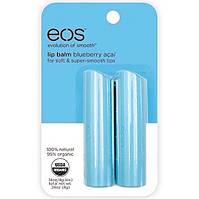 Бальзам для губ E.O.S Черника Асаи Lip Balm Stick, 2 шт