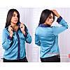 Рубашка R-5165 голубой