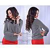 Блуза R-4434 серый