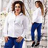 Блуза 1295бат белый