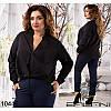 Блуза 1294.1 черный