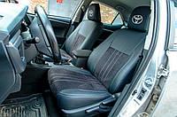 """Toyota Corolla """"Нубук"""" Модельные авточехлы MILLENNIUM, фото 1"""