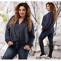 Блуза 12940.1 темно-синий