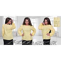 Блуза прошва 1211 желтый