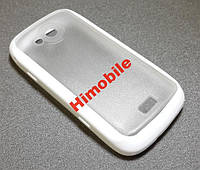 Чехол силикон Capdase Samsung S5560 белый