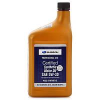Моторное масло SUBARU Synthetic Motor Oil 5W-30 0,946L