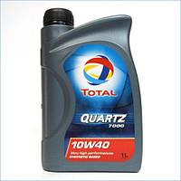 Моторное масло TOTAL Quartz 7000 10W-40 1L