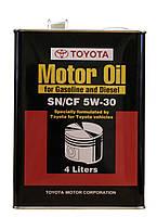 Моторное масло TOYOTA Motor Oil SN/CF 5W-30 4L