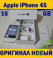 APPLE iPhone 4S 16Gb NEVERLOCK ПЛЁНКА+ЧЕХОЛ