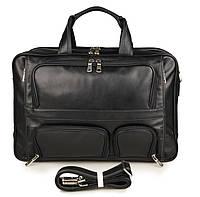 Многофункциональная кожаная сумка 7289A, фото 1