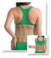 Корсет ортопедический с ребрами жесткости согревающий